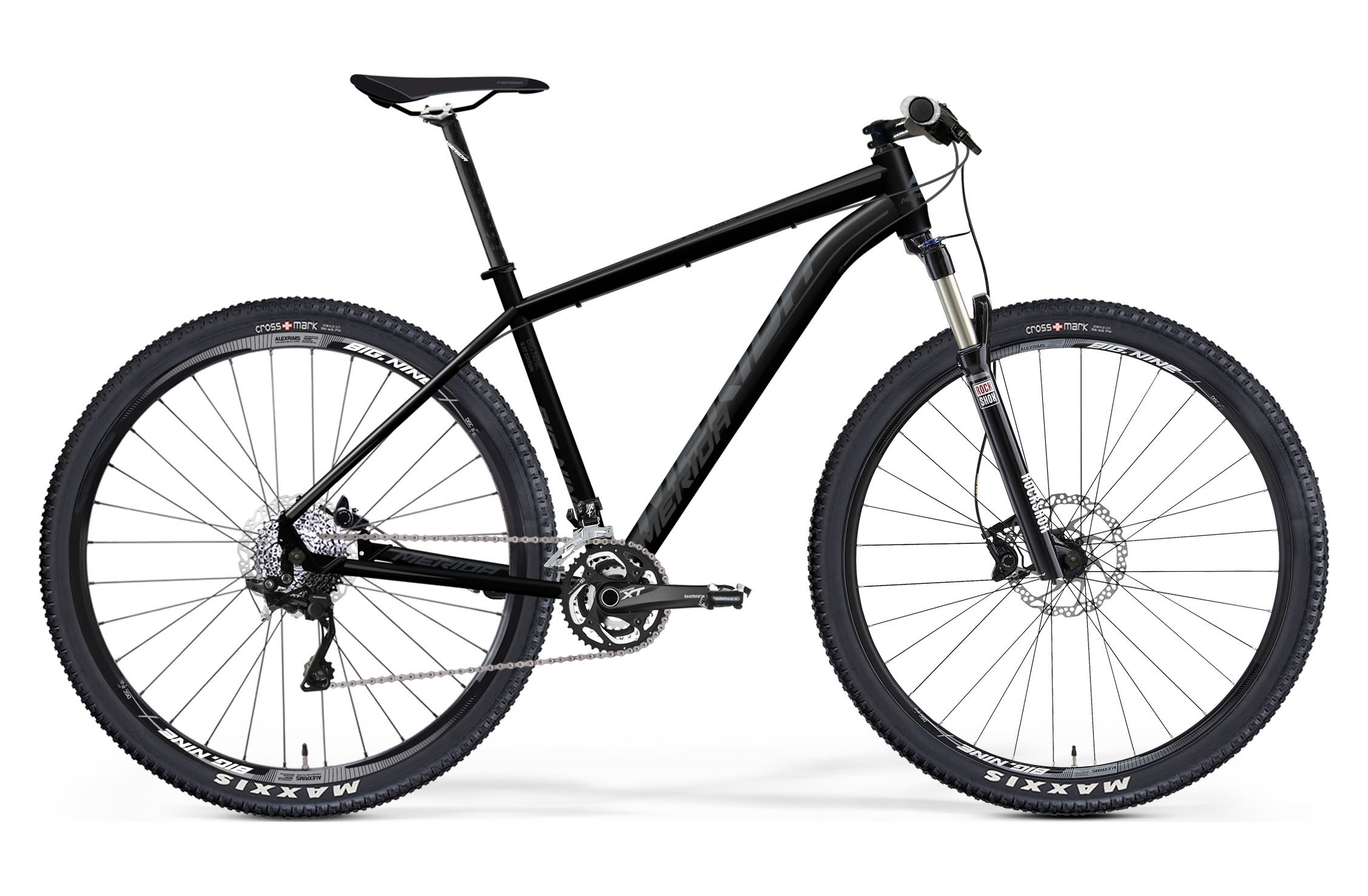 Горный велосипед Merida Big.Nine TFS XT-edition (2015)