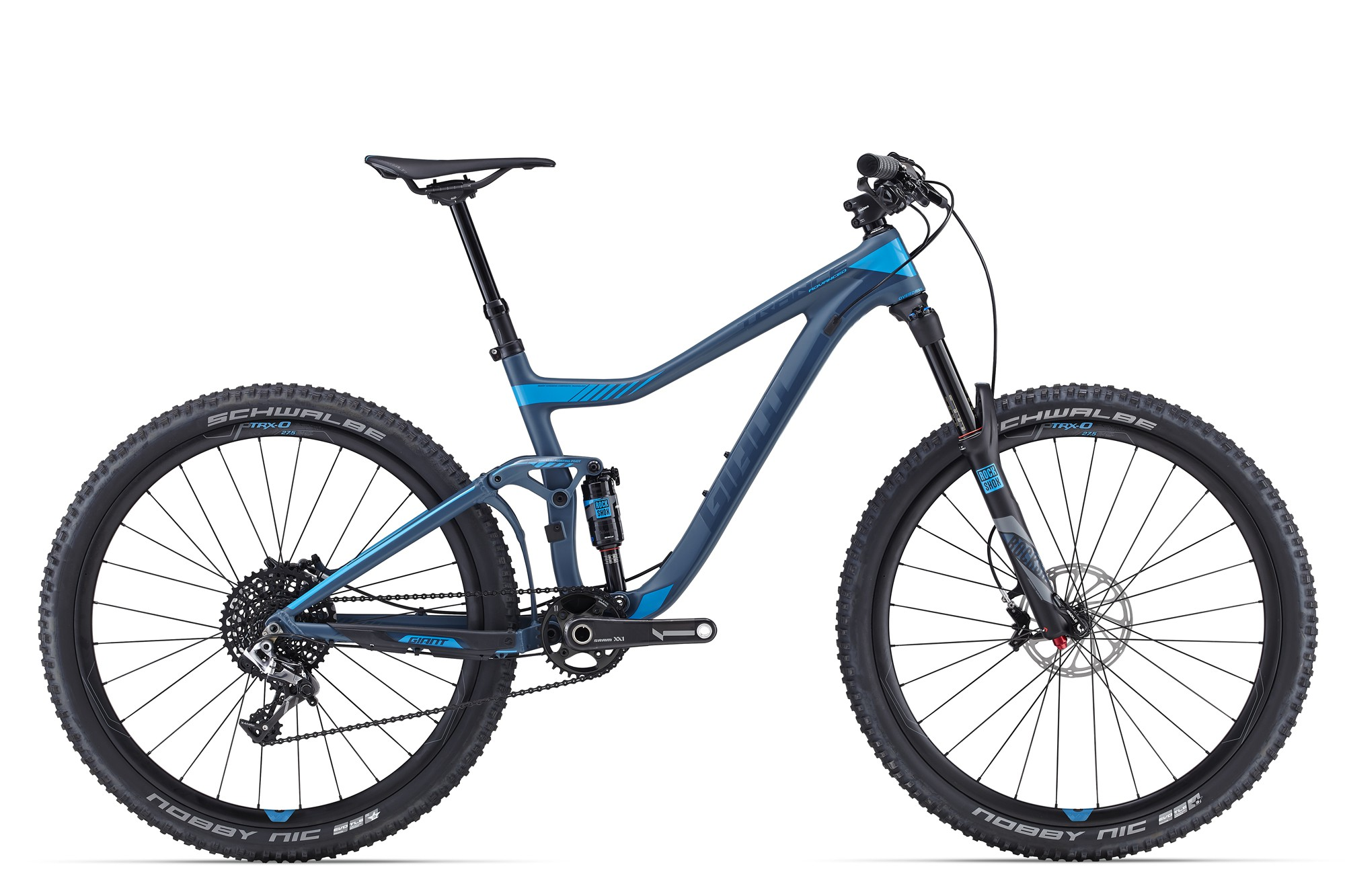 Горный велосипед Giant Trance Advanced 27.5 0 (2016)