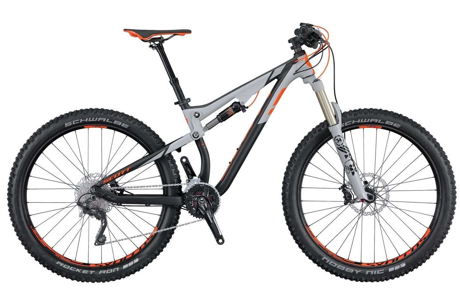Горный велосипед Scott Genius 720 Plus (2016)