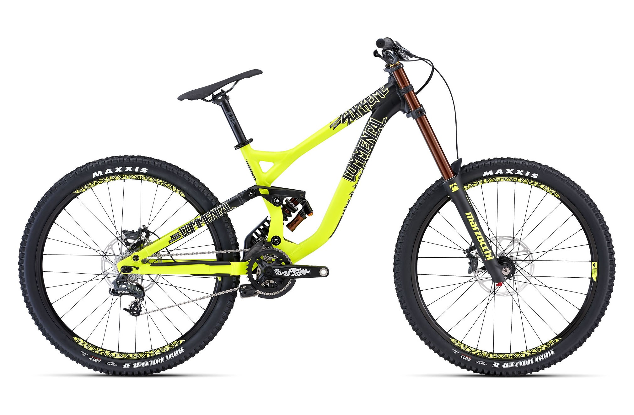 Горный велосипед Commencal Supreme DH Origin 650b (2015)