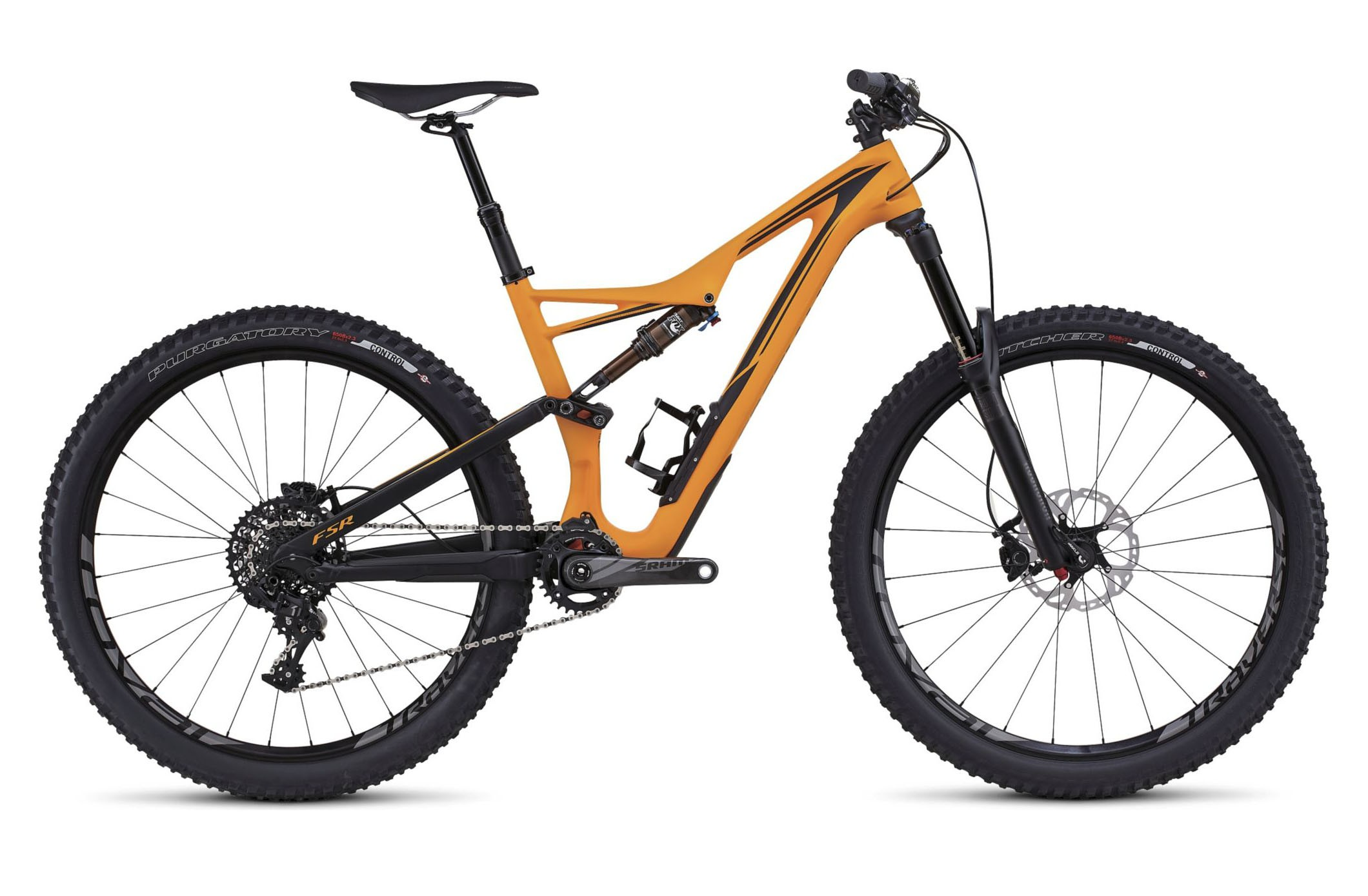 Горный велосипед Specialized Stumpjumper FSR Expert 650b (2016)