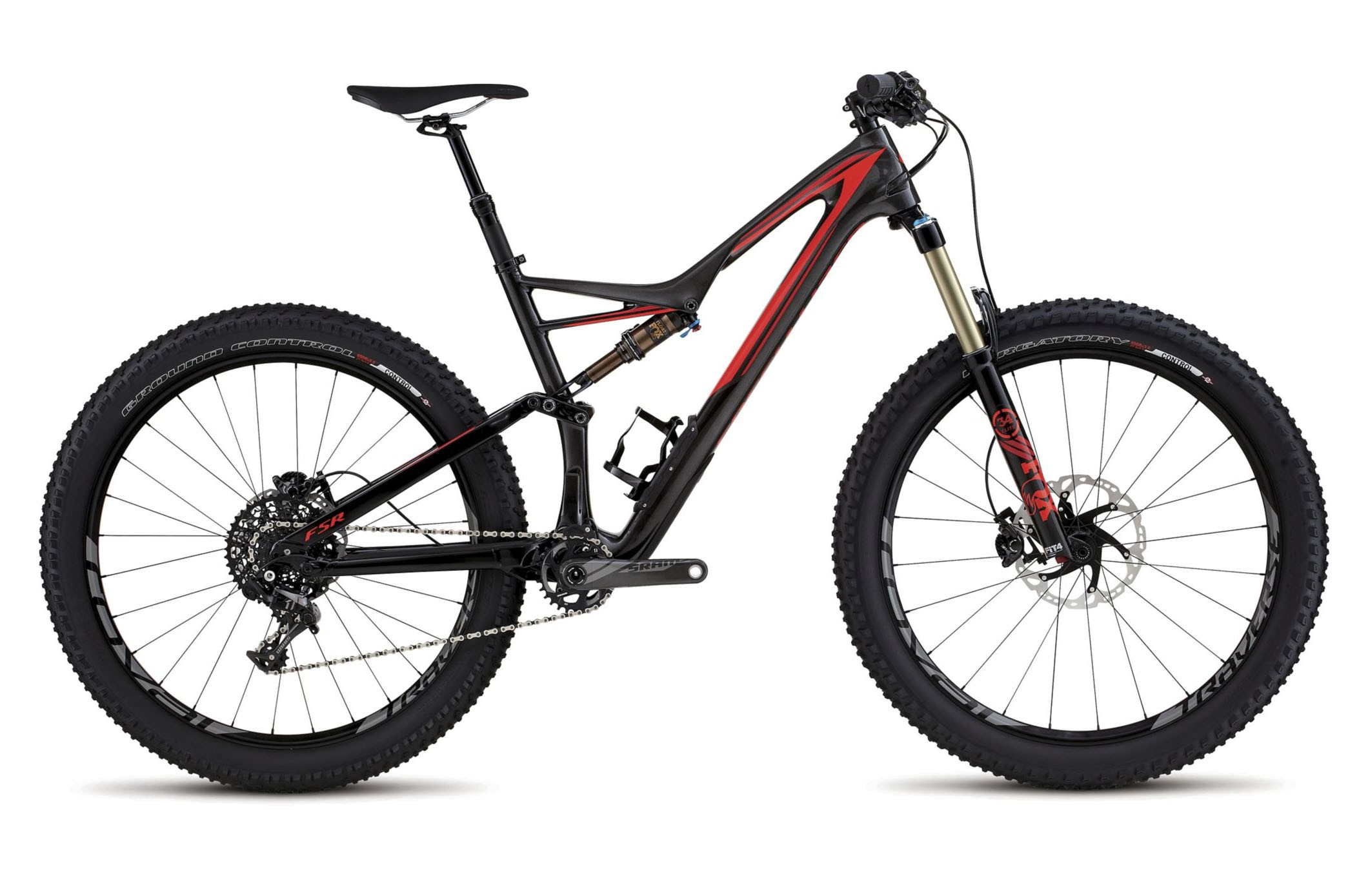 Горный велосипед Specialized Stumpjumper FSR Expert 6Fattie (2016)