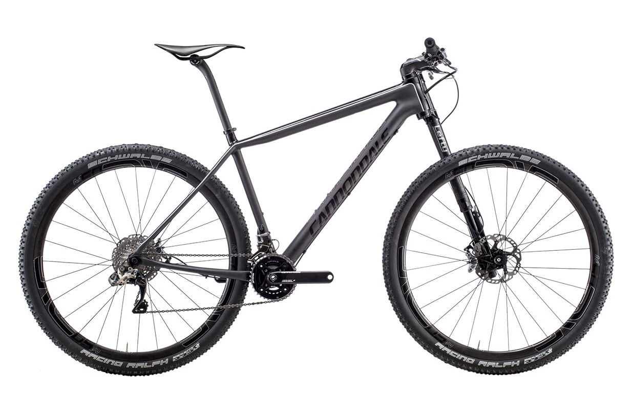 Горный велосипед Cannondale F-Si 29 Carbon Black Inc. (2015)