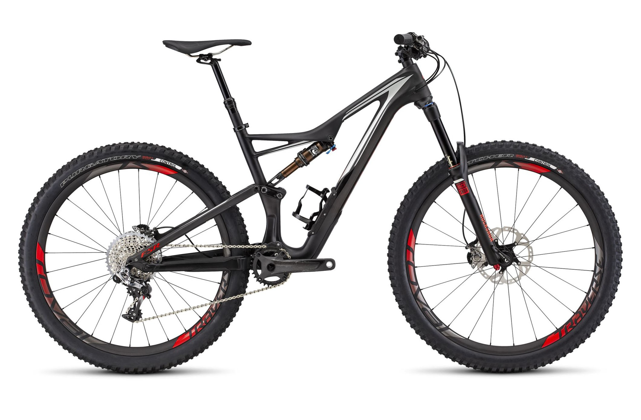 Горный велосипед Specialized S-Works Stumpjumper FSR 650b (2016)