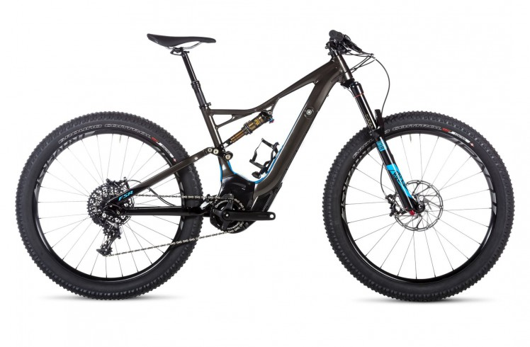 Горный велосипед Specialized Turbo Levo FSR Expert 6Fattie (2016)