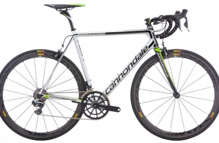 Шоссейный велосипед Cannondale SuperSix EVO Hi-MOD Team DI2 (2015)