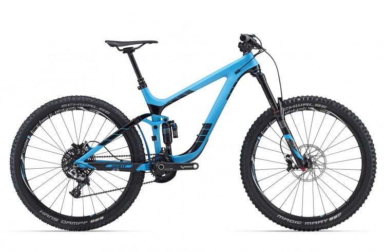 Горный велосипед Giant Reign Advanced 27.5 0 (2016)