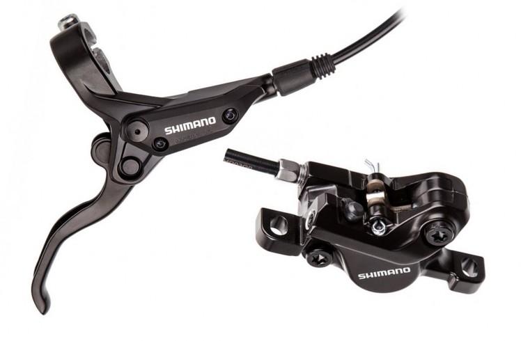 Задний тормоз Shimano BR-M395 + BL-M396