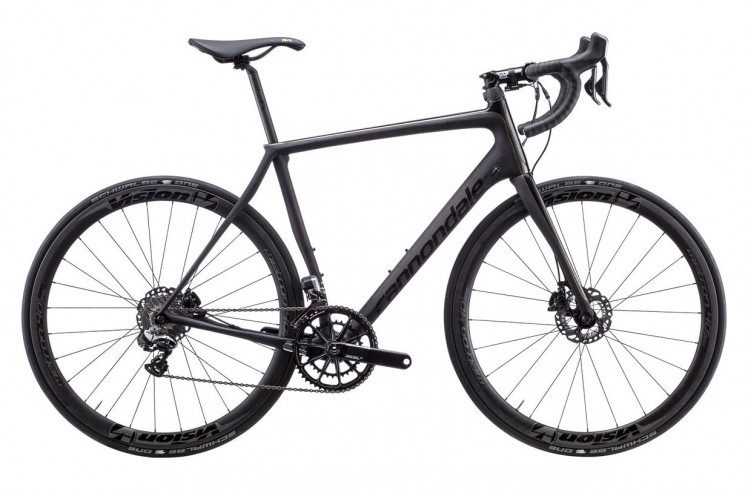 Шоссейный велосипед Cannondale Synapse Hi-MOD Black Inc. Disc  (2015)