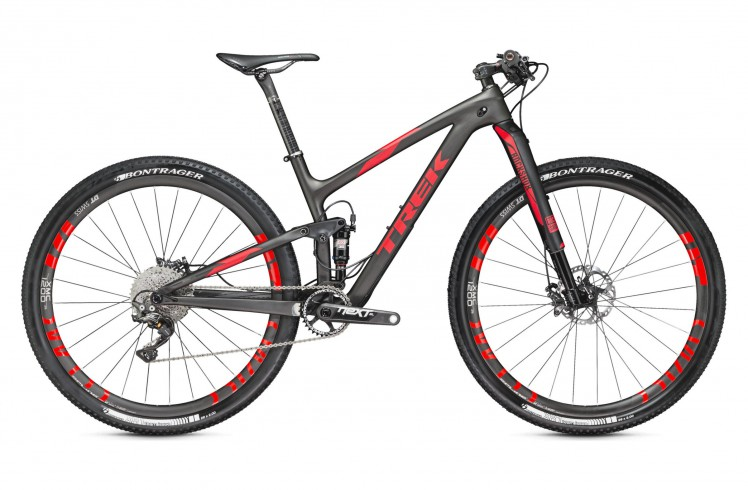 Горный велосипед Trek Top Fuel 9.9 SL 27.5 (2016)